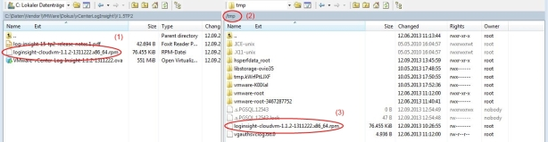 Copy RPM via WinSCP